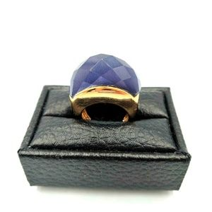 Jewelry - Purple Moonglow Faceted Ring Statement 5.75
